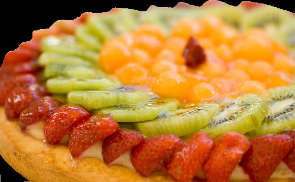 Tarta de frutas naturales en Arte&SANO