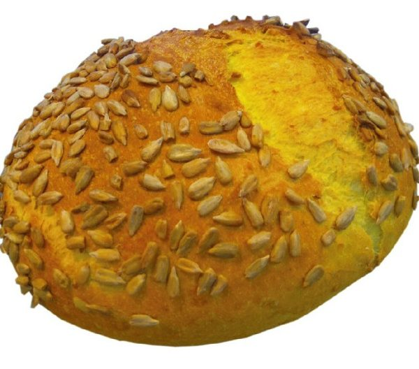 Pan de maíz y trigo con un toque de curry y cúrcuma Arte&Sano