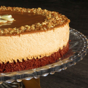 tarta de brownie con dulce de leche Arte&Sano