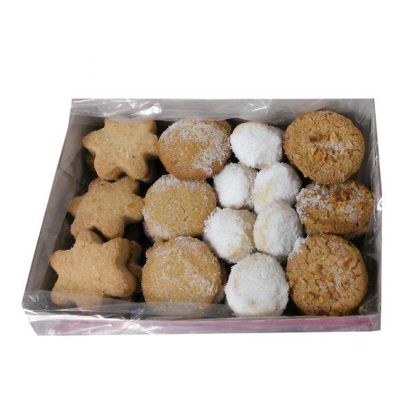 caja surtido de pastas y mantecados navideños 600-650gr