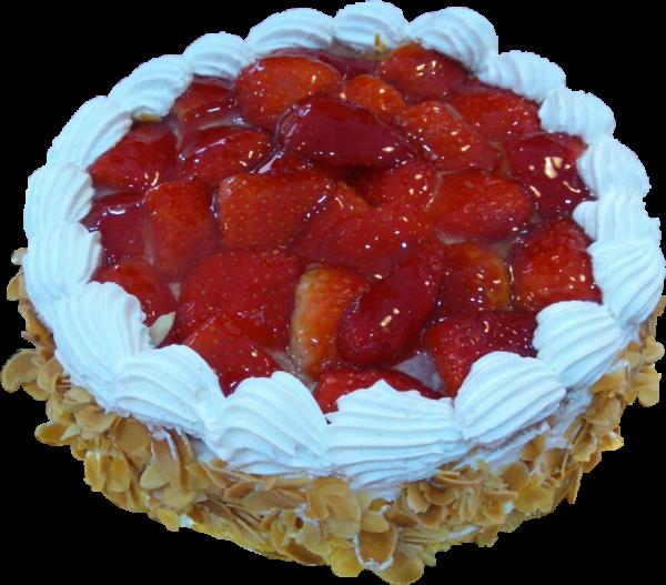 Tarta de fresas y nata Arte&Sano