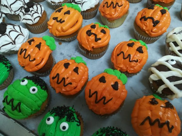 Muffins Hallowen Arte&Sano